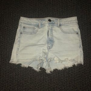super high waisted shorts